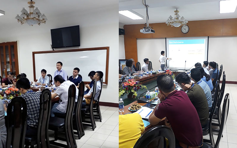 [Hanoi] Seminar and demonstration on BarChip in concrete reinforcement for marine construction at Tedi Port