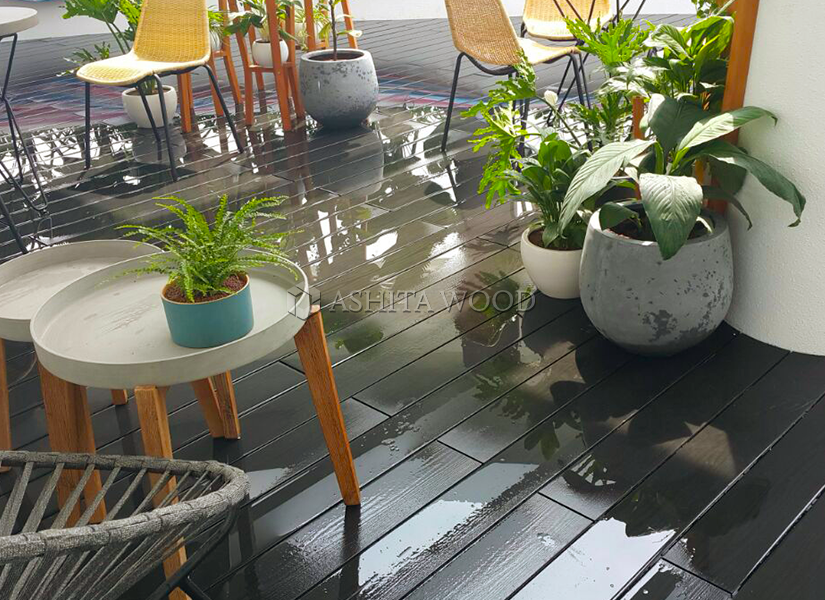 Ashita Wood Plastic Composite at Penthouse City Garden